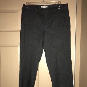 Calvin Klein Grey Men's Dress Pants Slim Fit